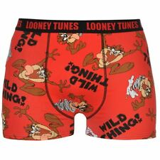 MENS LOONEY TUNES TAZ TAZMANIAN DEVIL BOXERS BOXER SHORTS UNDERWEAR TRUNKS PANTS