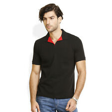 Identiti Stylish Casual Black T-Shirt For Mens (102-5202-02)