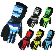 Men's Winter Motorcycle Hiking Ski Snow Snowboarding Gloves 6 Colors