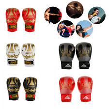1Pair Boxing Gloves Sparring Gloves Punch Bag Martial Art MMA UFC Training Mitts
