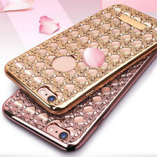 Luxury Bling Glitter Crystal Soft Back Phone Case Cover for iPhone 5S 6 6S Plus