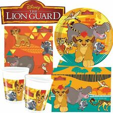 Disney The Lion Guard Party Tableware Plates Cups Napkins Kids Birthday