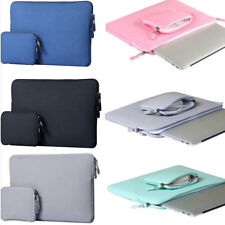 Notebook Laptop Protective Sleeve Case Pouch Bag Pocket for Macbook HP Dell