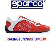 SCARPE SPARCO ESSE SUMMER SHOES SNEAKERS ESSE CANVAS ROSSE  SHOES 36-46