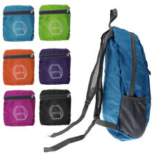 Foldable Shoulder Bag Backpack Rucksack Outdoor Sport Hiking Traveling Bag