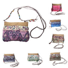 Womens Tote Messenger Cross Body Handbag Ladies Boho Hobo Bag Shoulder Bag Purse