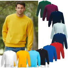 Fruit of the Loom Sweatshirt Herren Arbeits Pullover Shirt Pulli Jacke S bis 3XL