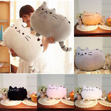 Soft Plush Biscuit Cat Throw Pillow Cushion Kids Toy Doll Christmas Gift Decor