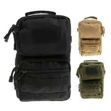 Outdoor Tactical Messenger Shoulder Sling Bag Pouch Sports Backpack Phone Wallet
