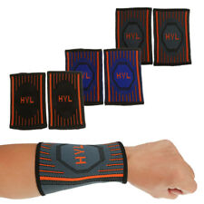 Compression Wrist Sweat Band Sports Basketball Tennis Badminton Workout Running