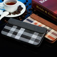 1 x Luxury Magnetic Flip Cover Stand Wallet Leather Case - Samsung Galaxy Models