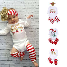 Newborn Baby Girl Favour Long Sleeve Outfits Clothes Baby Suits