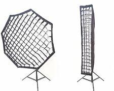 Rocwing Softbox Bowens S Type Fit Rectangle Octagon Diffuser Grid Honeycomb