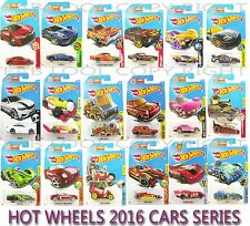 MATTEL HOT WHEELS 2016 SERIES CARS ASSORTMENT