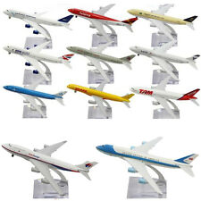 16/20CM Metal Plane Model Aircraft Diecast Airlines Aeroplane Desk Toy Gift