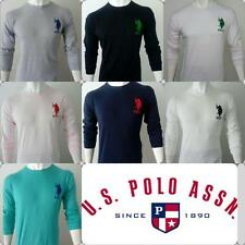 US Polo Branded Rounded Neck Men T-shirts / Tshirts Winter Wear Cotton T shirts