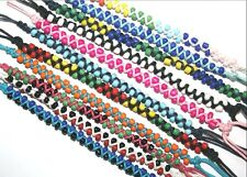 NEW HANDMADE BEADED WRAP SURFER UNISEX FRIENDSHIP BRACELET MIXED COLOURS