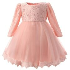 Girl Princess Frock with Long Sleeve - FREE SHIPPING