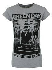 Green Day Power Shot Women's Grey T-shirt