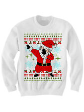 DABBIN' SANTA CHRISTMAS SWEATER LADIES MENS SWEATERS CHRISTMAS PARTY OUTFITS