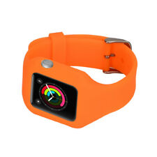 Soft Silicone Wrist loop Strap Tracker Smart Watch Band for Apple Watch 42mm
