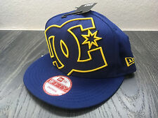New Era x DC SHOES Hat ya heard blue/yellow snapback One size