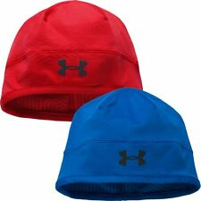 Under Armour ColdGear No Breaks Infrared Run Beanie Mens Winter Hat