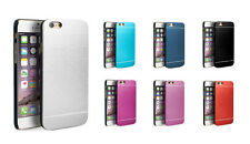 De lujo Aluminio Ultrafina Metal Funda Protectora para iPhone 5/5s/6/6+ Plus