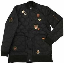 Born Fly Black Alpha Quilted Jacket