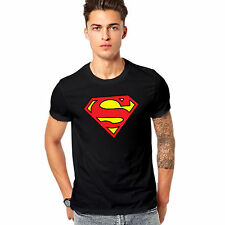 T Shirt Printed Cotton Half Sleeve - Buy T Shirt Printed Superman t Shirt -Black