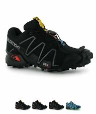 ORIGINALE Salomon Speedcross 3 Donna Trail Scarpe running Black/Black