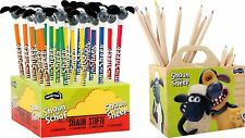 Shaun the Sheep Crayons Display of 25 Shaun the Sheep Pencil Colours Container