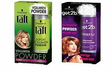 (49,90€/100g) Schwarzkopf got2b Volume POWDER ou taft Volumisateur Powder 10g