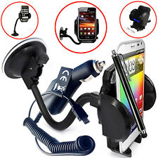 FLEXI WINDSCREEN 360 CAR MOUNT SUCTION HOLDER CRADLE FOR Motorola Moto G2 G3 G4