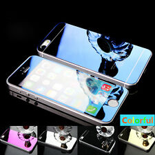 Front & Back Full Body Mirror Tempered Glass Screen Protector For iPhone 4 5 6 7