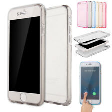 Clear Transparent Crystal Soft TPU Silicone Gel Skin Case Cover For iPhone 6 6s