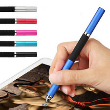Capacitive PRO STYLUS WITH BALL POINT PEN MICRO-FIBRE TIP FOR IPHONE IPAD TABLET