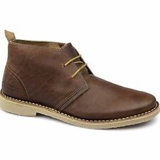 Jack and Jones Gobi Warm Lining Leather Brown Desert Boots