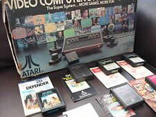 Select FROM A BUNDLE OF RARE / COLLECTABLE atari 2600 VCS GAMES / carts