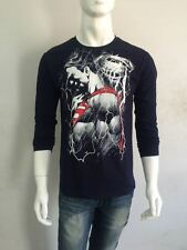 NEW ARRIVAL Superman T-shirt - Full Sleeve - Black