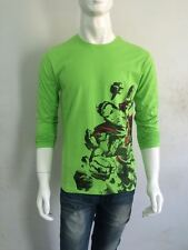 NEW ARRIVAL Superman T-shirt - Full Sleeve - GREEN