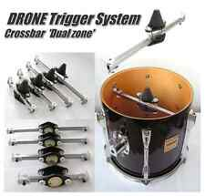 Drum Trigger DRONE 'DUAL ZONE' Snare,Tom, pick your size-for use with Roland