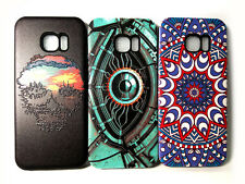 FUNDA CARCASA ANTI GOLPE PARA MOVIL PARA SAMSUNG GALAXY S7 EDGE PINTURA RELIEVE