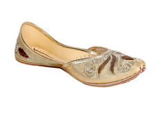 Panahi Women's Copper Wedding Ethnic Punjabi Jutti (FBWDIAPTISYN201COG)