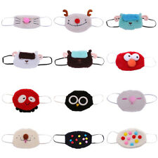 Cute Plush Mouth Mask Respirator Face Mask Ear Loop