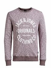 JACK and & Jones Core Longsleeve Pulli Sweatshirt Sweater Pullover rot red