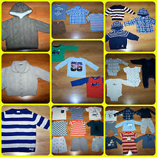BABY BOYS CLOTHES *38 items* 9 - 12 and 12 - 18 months incl. Ted Baker,M@Co,Next