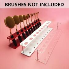1PC Acrylic Makeup Brush Holder Shelf for 10Pcs Toothbrush Brush Set