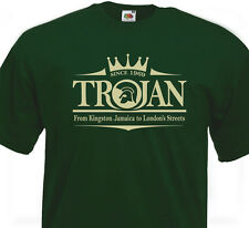 T-SHIRT TROJAN - Rocksteady Ska Studio One Rude Boy Roots Skinhead Reggae 60's