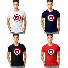Branded Pure Cotton T Shirt - Captain America T Shirt - Avengers printed T Shirt
